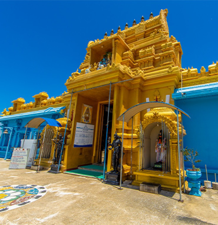 The most colourful Temples with indian touch in the Eastern province | Gateway to East