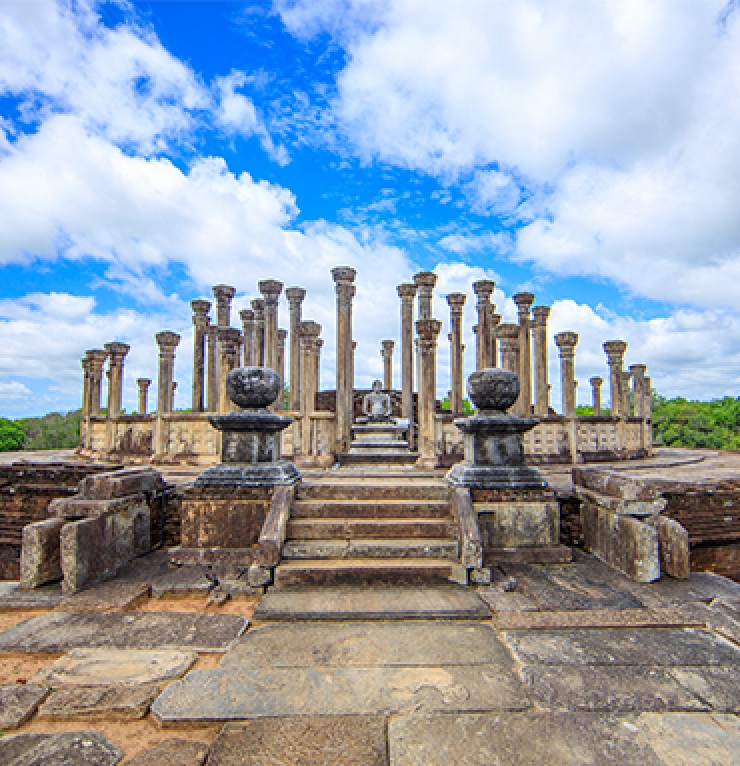 Ancient Hospitals in Polonnaruwa | Gateway to East